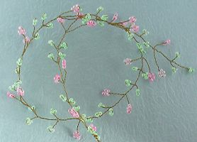 daisy hair vine by Craftcove