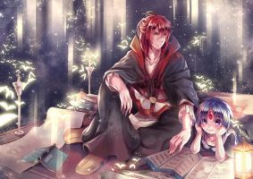:: MAGI ::Once upon a time by Linea-Lucifer