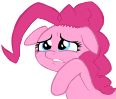 pinkie is sad... by hipster-ponies