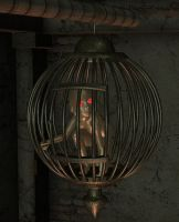 Caged Alien by Luddox