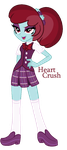 Heart Crush - Equestria Girls Adoptable - SOLD by MonkFishyAdopts