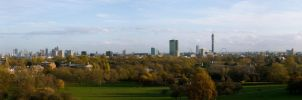 Primrose Hill panorama 2 by mayec