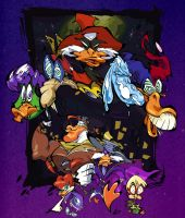 Darkwing Duck by BrendanCorris