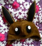 Eevee Hat by SmileAndLead