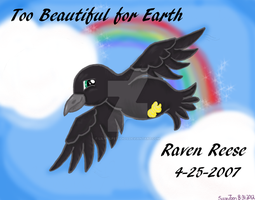 Raven Reese Memorial Commission by LilWolfStudios