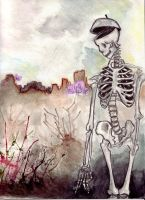 Skeleton by Ivory-Bell