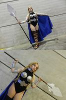 Valkyrie Brunhilde - Marvel Comics by TaryBelmont