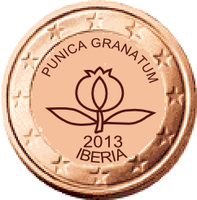 Iberian coin 2 cent by hosmich