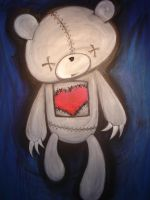 Torn Heart by SharpieFetish
