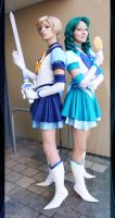 Sailor Moon Sailor Stars : Uranus + Neptune I by elsch