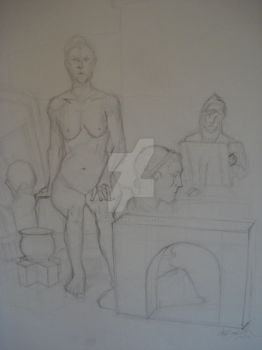 Figure II InClass Drawing 2 by TheCelticViking