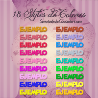 Styles de Colores by SweetValesKat