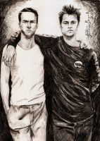 'Jack' And Tyler Durden by tahiz