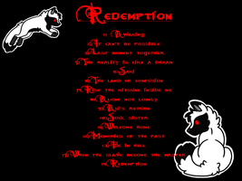 Redemption Chapter List by TaruKitsune