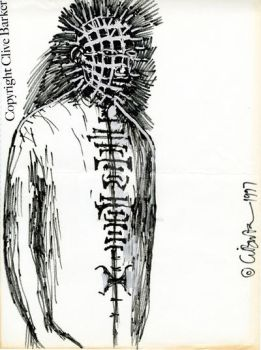 Pinhead Illustration 2 by CliveBarker