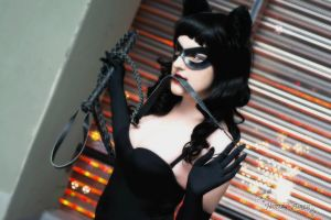 Rockabilly Catwoman: Flirting With The Bat by HarleyTheSirenxoxo