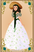Scarlett O'hara Barbeque Dress by menolikee
