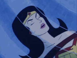 Wonder Woman Truth Beam Animation by The-Mind-Controller