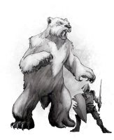 Short-Faced Bear by butterfrog