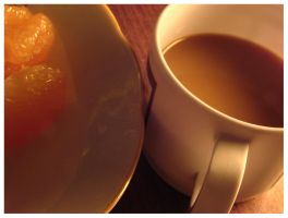 grapefruit and coffee by moodyline