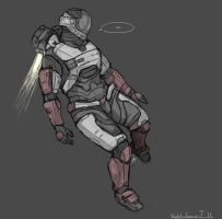I havent played Halo Reach in a very long time by zetsumeininja