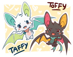 Taffy and Toffy by whispwill
