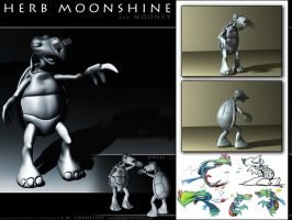 Mooney the Turtle 1024x768 by Carnival-Werewolf