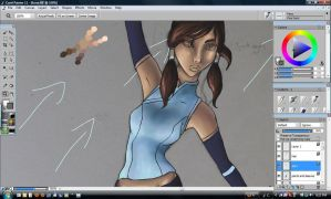 Legend of Korra WIP by Ambilia-Scriba