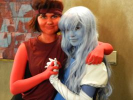 Ruby and Sapphire by ExtremeSolutions