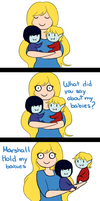 Hold my babies by malengil