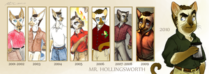 A Decade of Mr. Hollingsworth by Katmomma