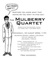 Mulberry Quartet -Shostakovich by mitya