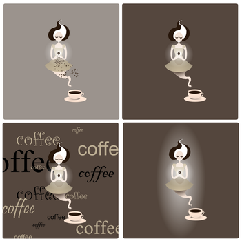 Coffee versions by purecoincidence