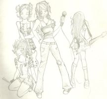 Girls band by Dorotty