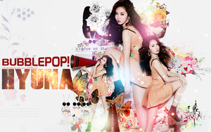 Hyuna Wallpaper Ver2 by Your-luv