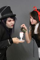 Dark alice and Mad hatter 18 by MajesticStock