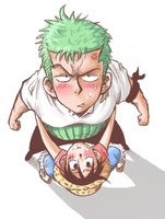 ZORO X LUFFY - DONT LOOK by thegreatlimechan