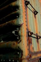 Rusted Boxcar by bkueppers