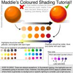 Coloured Shading Tutorial - How to pick a palette by caughtinthehurricane