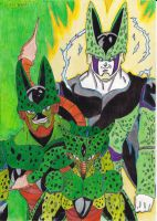 dbz cell evolution to perfection by demonjester55