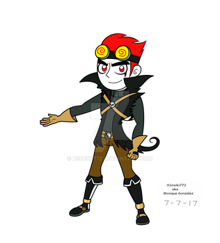 XC Jack Spicer (my version) by XSreiki772