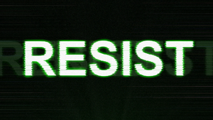 Resist Desktop Wallpaper (Modem) by SH9DOW