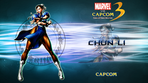 Marvel VS Capcom 3 Chun Li by CrossDominatriX5
