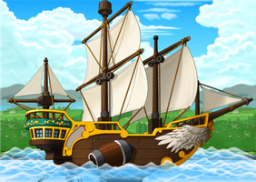 Maplestory Background: Ship by Balance-Song