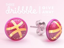 Three dribbble invites give away by LuisFaus