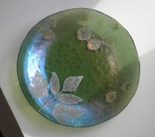 Fossil Vitra Plate by CeltCraft