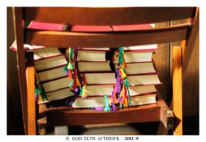 Books can be colorful by Seth890603