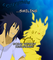 Naruto Chapter 641- Smiling by Croxfod106