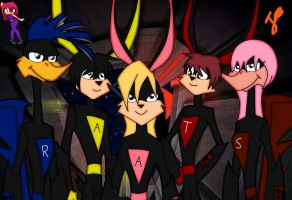 Loonatics Time Future by superpinathehedgehog