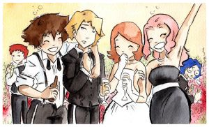 Ishida Wedding by jsheaisaninja
